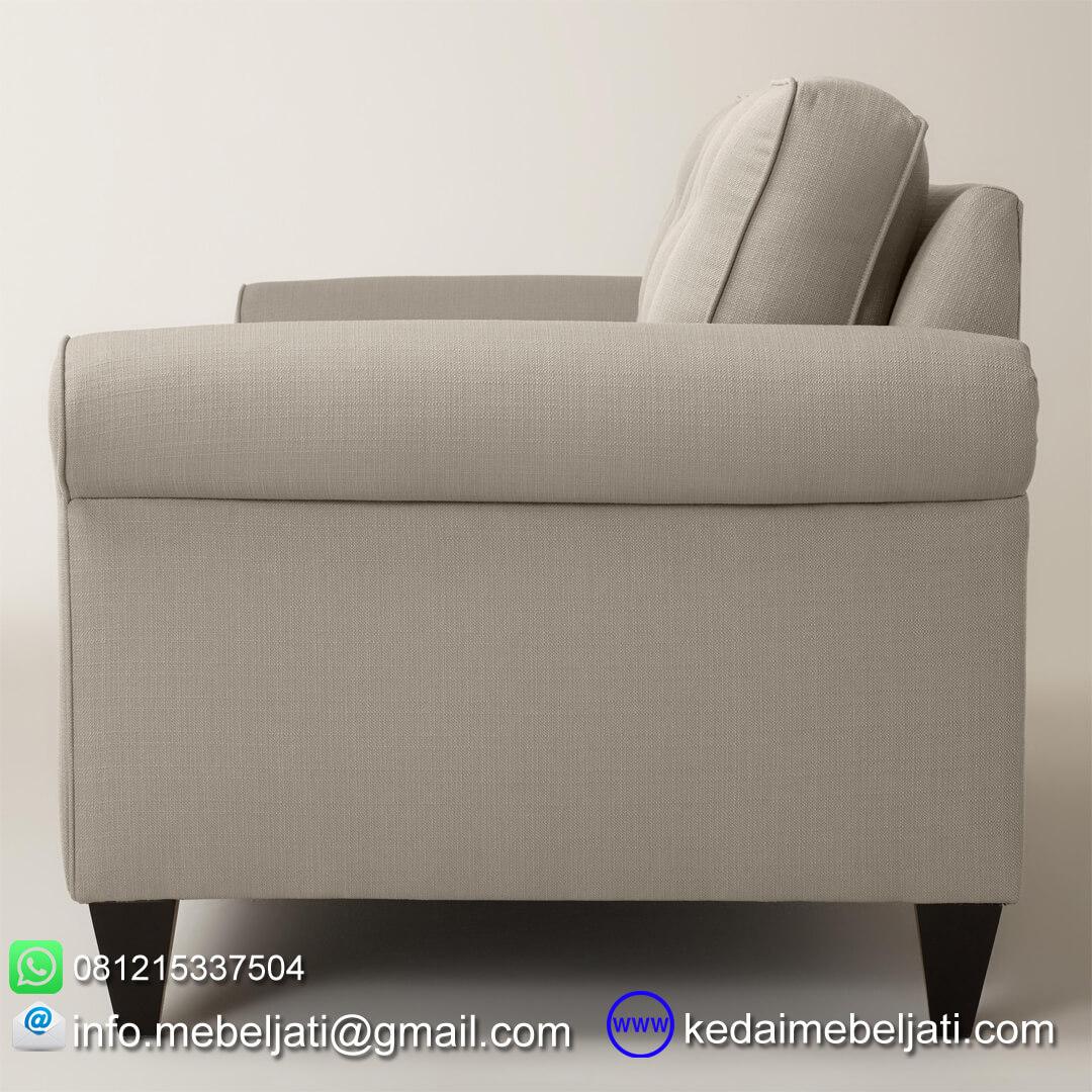 sofa ruang tamu minimalis auckland tampak samping