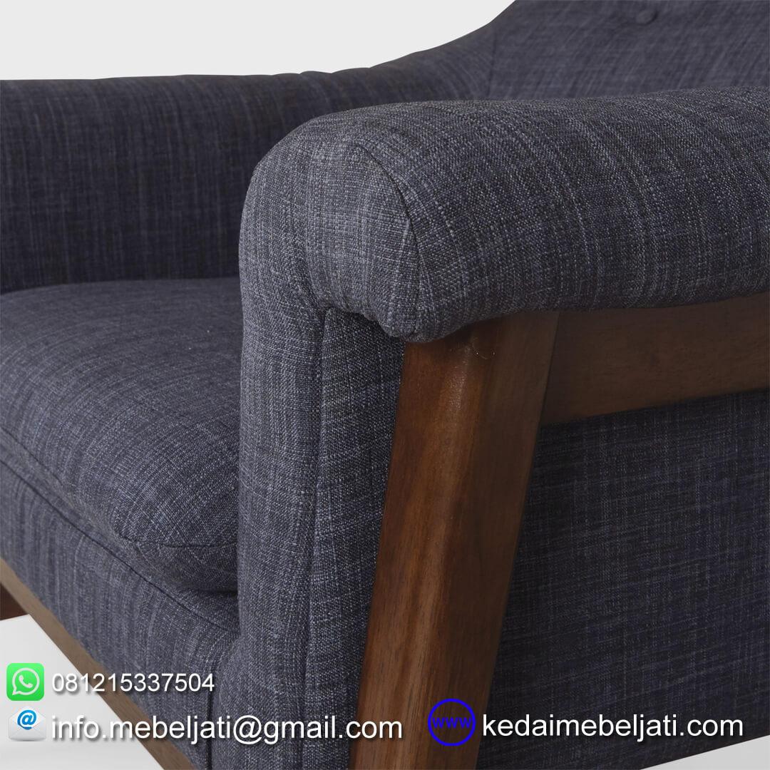 sofa santai minimalis britania detail jok