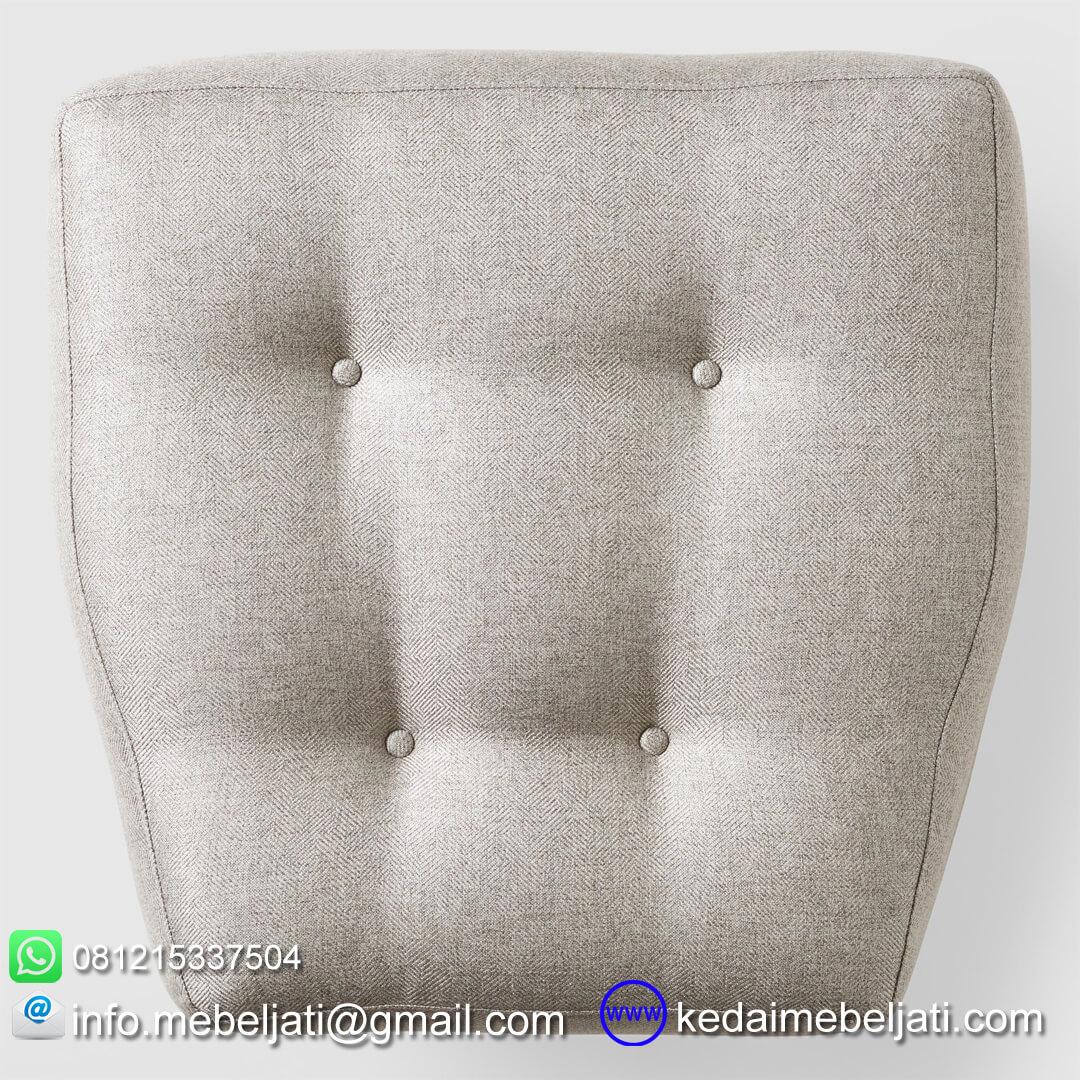 sofa santai modern kayla tampak atas