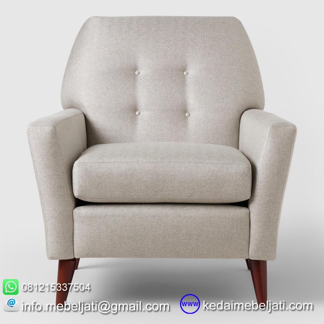 sofa santai modern kayla tampak depan
