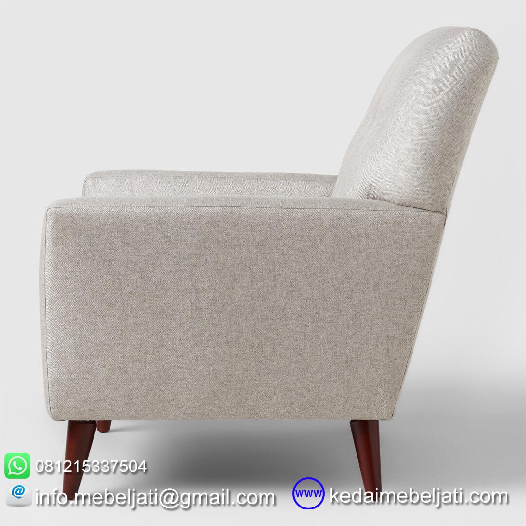 sofa santai modern kayla tampak samping