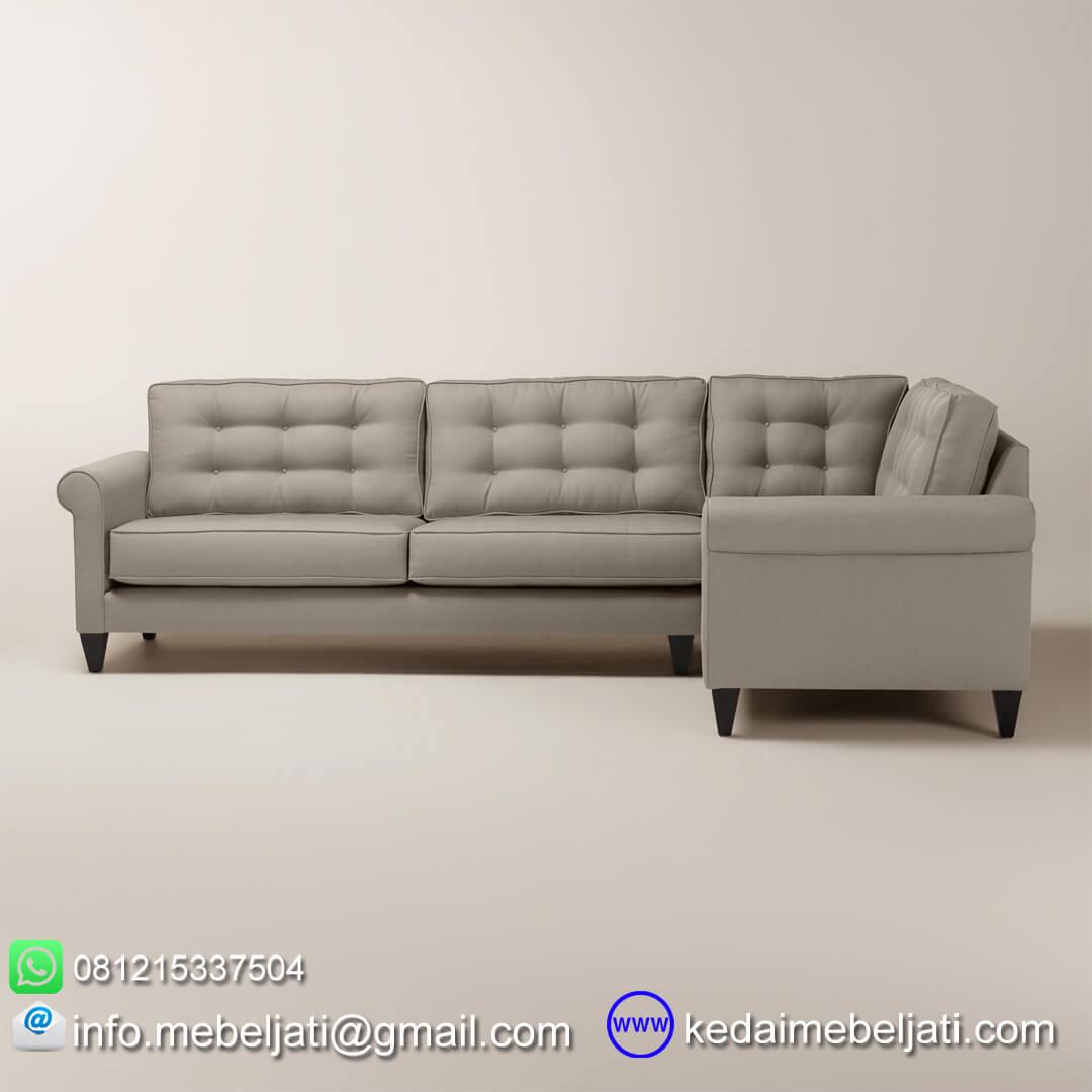 sofa sudut model minimalis