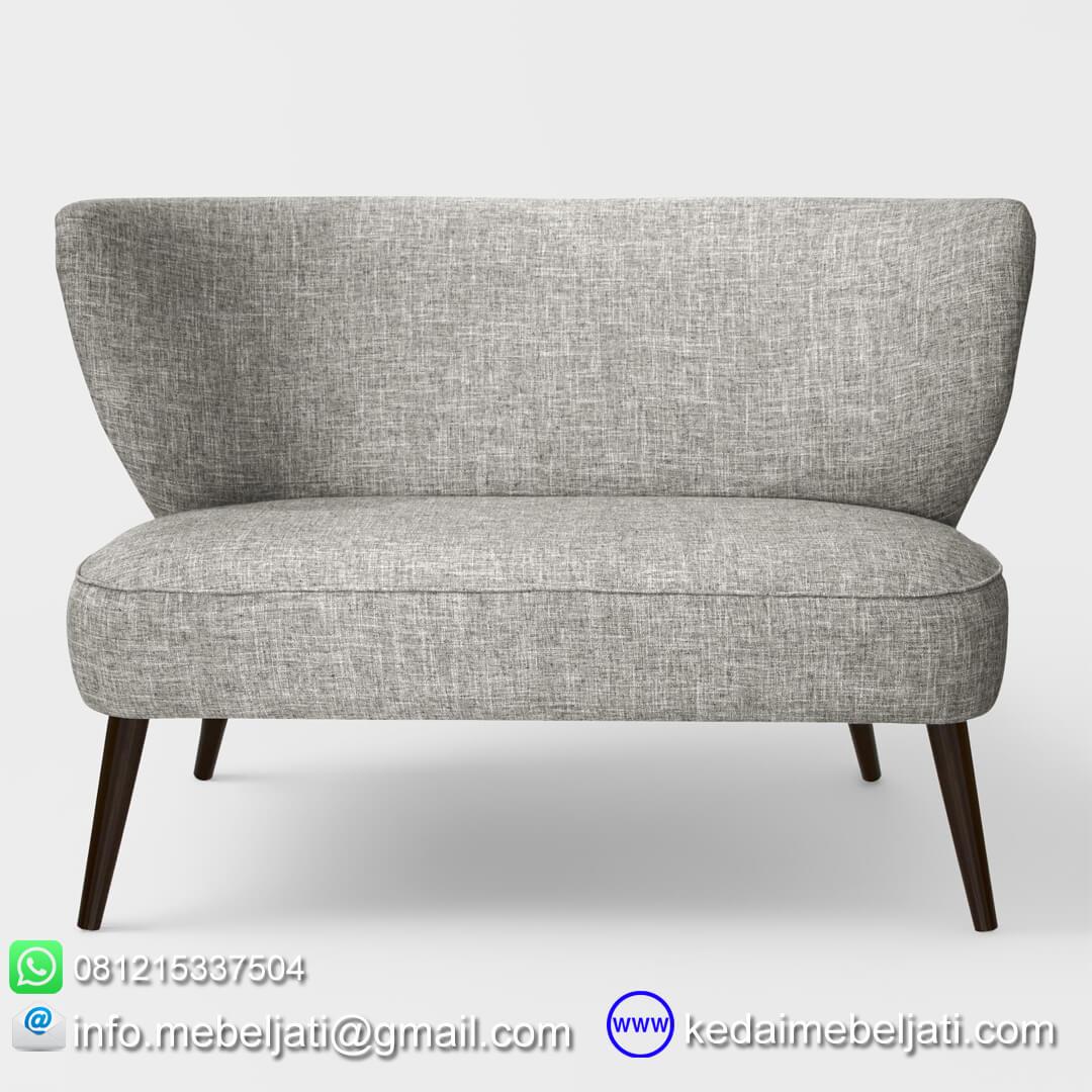 sofa vintage scandinavia design tampak depan