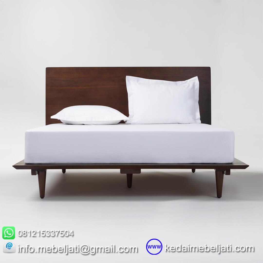 tempat tidur minimalis modern tampak depan