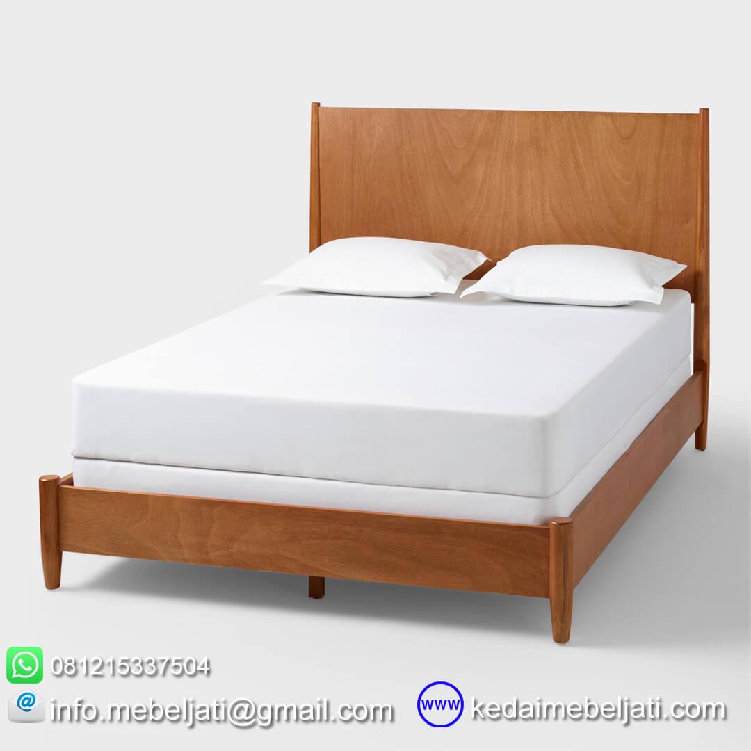 tempat tidur vintage minimalis