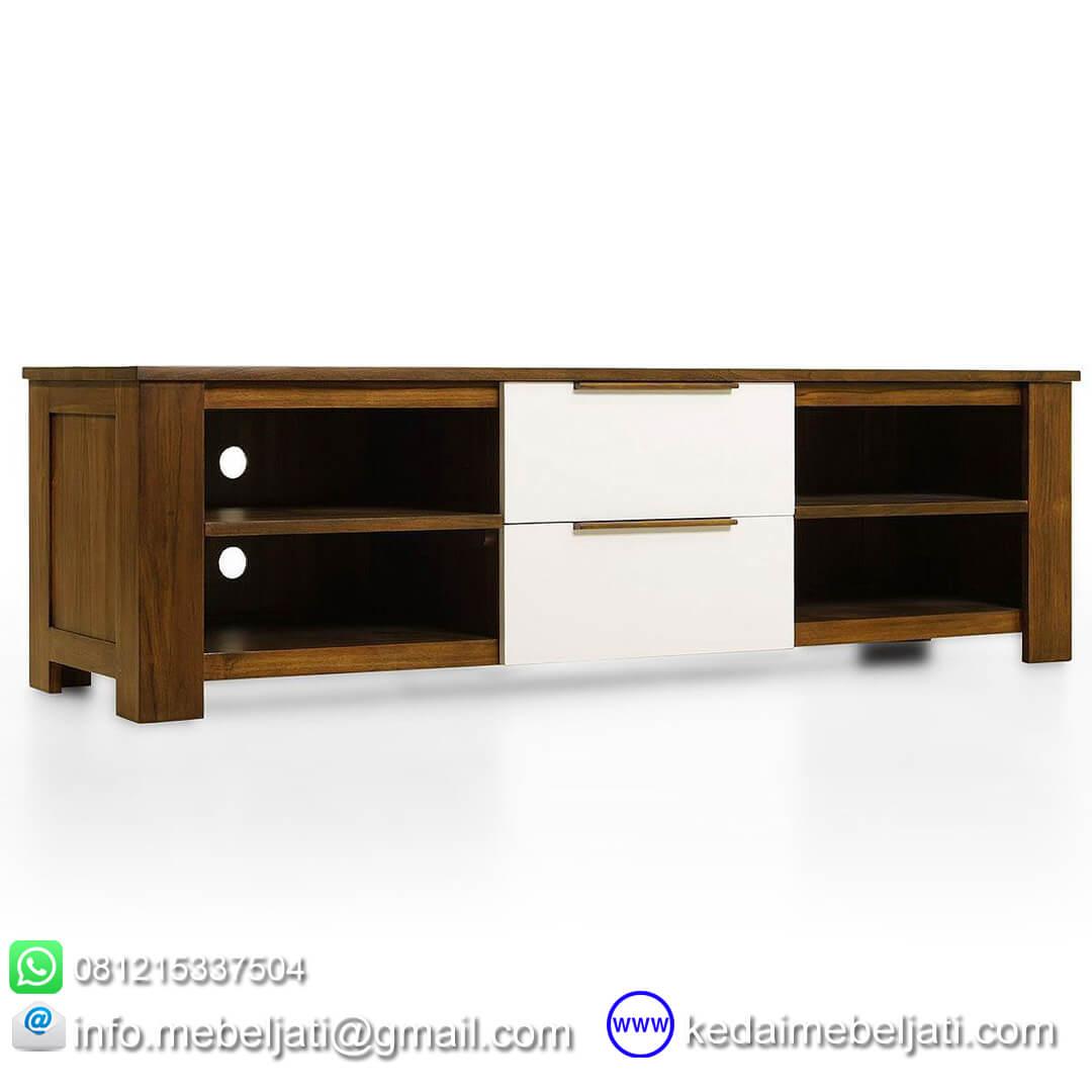 Gambar Kabinet TV design modern minimalis KTV 029