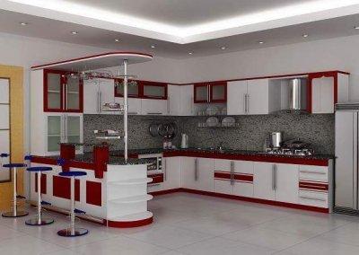 kitchen set minimalis model 21